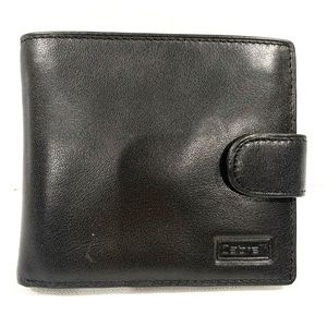 Men's Cabrelli Black Leather Wallet